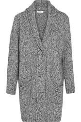 Sandro Gilia Knitted Cardigan Gray