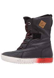 O'neill Hucker Firewall Winter Boots Black Fire Red