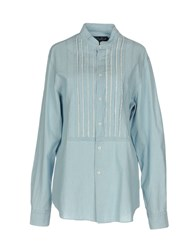Mc2 Saint Barth Shirts Sky Blue