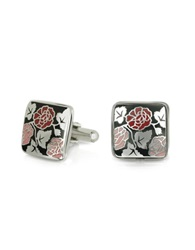 Forzieri Fashion Garden Roses Square Cufflinks