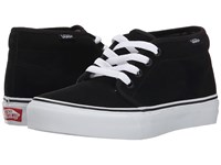 Vans Chukka Boot Core Classics Black White Suede Shoes