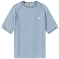 Fred Perry X Nigel Cabourn Sports Pique Crew Tee Blue
