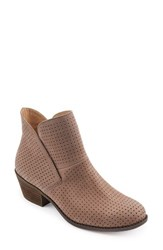 Me Too Women's Perforated Bootie Rosewood