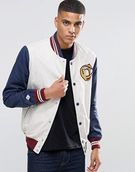Pepe Jeans Baseball Jacket White