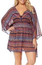 Jessica Simpson Plus Size Women's Cover Up Kimono