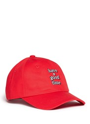 Have A Good Time Logo Embroidered Baseball Cap
