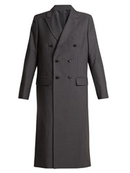 Toga Oversized Double Breasted Pvc Cut Out Coat Grey