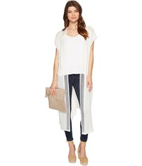 Bcbgeneration Breezy Way Duster White Women's Clothing