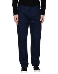 Class Roberto Cavalli Trousers Casual Trousers Men Dark Blue