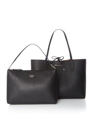 Guess Bobbi Reversible Tote Bag Black
