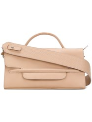 Zanellato Small Shoulder Bag Nude And Neutrals