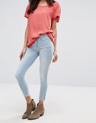 Only Kendall Skinny Jeans Light Blue Denim