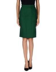 Dsquared2 Knee Length Skirts Green