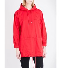 Chocoolate Hooded Shell Jacket Red