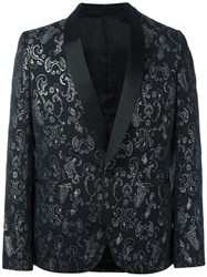 Christian Pellizzari Shawl Lapel Blazer Black
