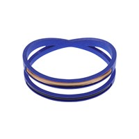 Aea One Contortion Bangle Blue Black And Copper