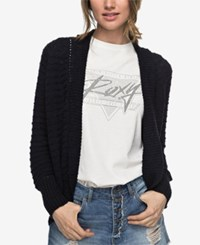 Roxy Chunky Knit Cardigan Anthracite