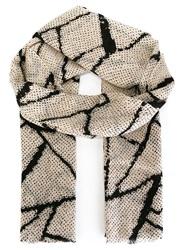 By Malene Birger 'Gentile' Scarf Nude And Neutrals