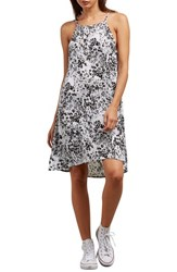 Volcom Soul Window Dress Black White