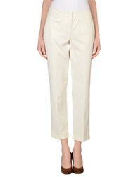 Max And Co. Trousers Casual Trousers Women Beige