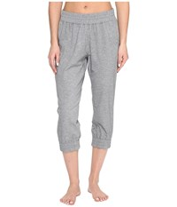 Soybu Skim Capris Grey Heather Women's Capri Gray