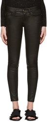 Frame Denim Black Le Leather Pants