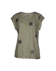 Pepe Jeans T Shirts Military Green