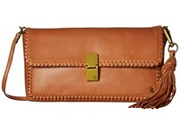 Elliott Lucca Tristan Clutch Tobacco Kusuma Clutch Handbags Brown