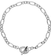 Links Of London Signature Sterling Silver Xs Charm Chain Bracelet