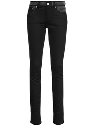 Red Valentino Studded Skinny Jeans Black