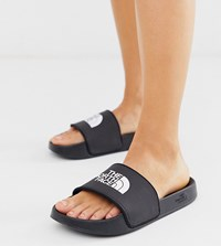 The North Face Base Camp Slide Ii In Black White