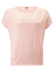 Phase Eight Keeley Silk Panel Top Blush