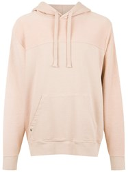 Osklen Terry Texture Hoodie Nude And Neutrals
