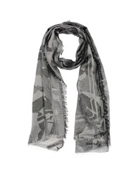 Diesel Oblong Scarves Black
