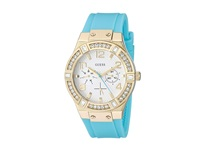Guess U0426l3 Turquoise White Watches Blue