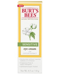 Burt's Bees Sensitive Eye Cream 0.5 Oz