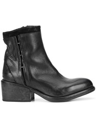 Moma Pull On Ankle Boots Black