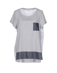 Rosso35 T Shirts Grey