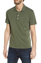 Billy Reid Pensacola Gd Slim Fit Polo Thyme
