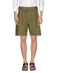 Christophe Lemaire Bermudas Military Green
