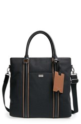 Men's Ted Baker London 'Ramblor' Canvas And Leather Tote