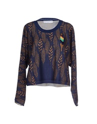 Jc De Castelbajac Sweaters Dark Blue