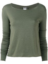 Kristensen Du Nord Long Sleeve T Shirt Green