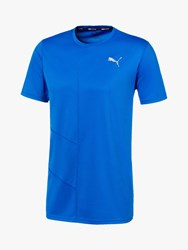 Puma Ignite Short Sleeve Training Top Blue