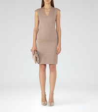 Reiss Turner Dress Womens Tailored Dress In Red