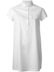 Ermanno Scervino Peter Pan Collar Dress White