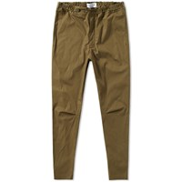 Over All Master Cloth Oamc Cropped Isle Pant Green