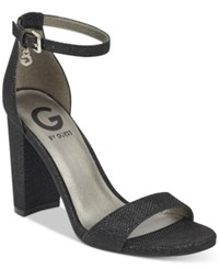 G By Guess Shantel Two Piece Sandals Women's Shoes Black