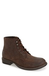 Men's Eastland 'Brice' Apron Toe Boot Brown Oiled Leather