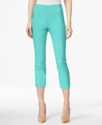 Styleandco. Style And Co. Pull On Capri Pants Only At Macy's Pacific Aqua